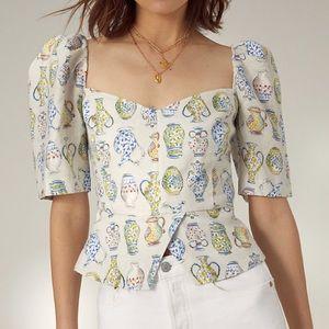 Aritzia Wilfred Fatale blouse